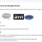 Appie voor Google Home